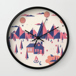 Retreat Wall Clock