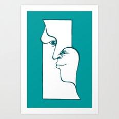 Head Art Print