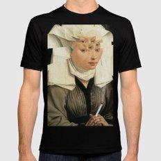 van Weyden und das Laster Mens Fitted Tee MEDIUM Black