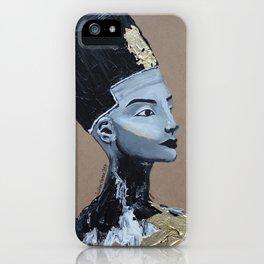 Nefertiti GOLD iPhone Case