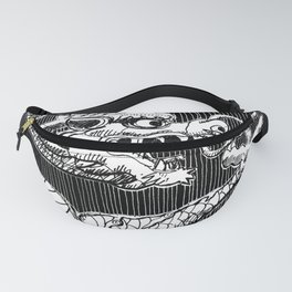 Traditional Chinese Dragon Fanny Pack