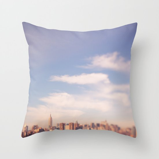 I am in Brooklyn... Throw Pillow