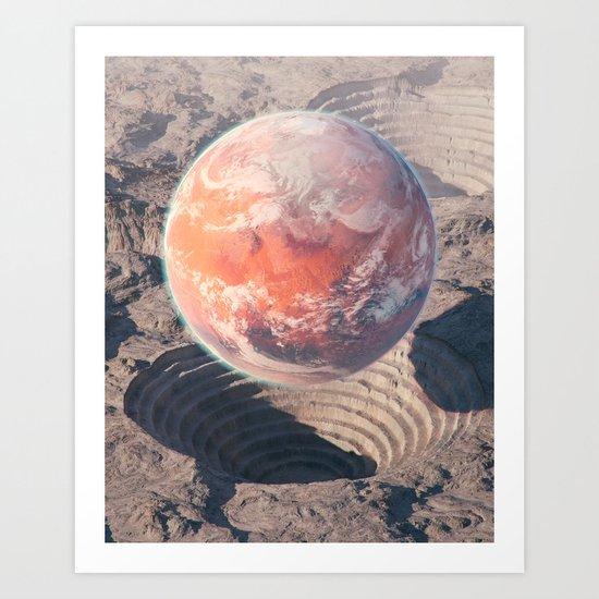 Second chance Art Print