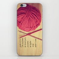 scripture iPhone & iPod Skins featuring Psalm 139 Baby Scripture by KimberosePhotography