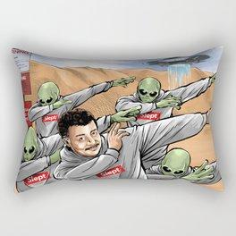 Neil Degrasse Tyson and Friends Rectangular Pillow
