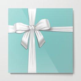 Blue Tiffany Box Metal Print