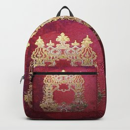 Ink Stained Crimson Book Backpack
