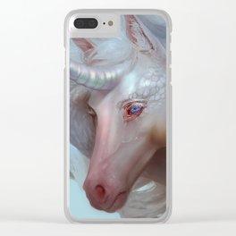 Unicorn Cobra Clear iPhone Case