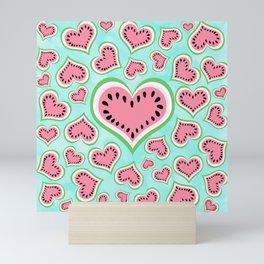 Watermelon Love... Mini Art Print