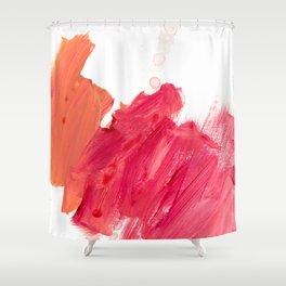 brush strokes 11 Shower Curtain