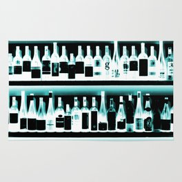 Wine Bottles - version 2 #decor #buyart #society6 Rug