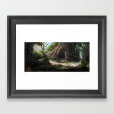 Avalon's Creek Framed Art Print