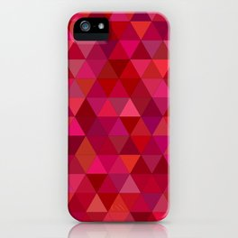 Bloody triangles iPhone Case