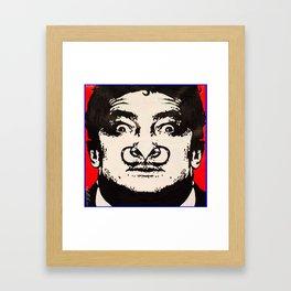 Doodle Dali Framed Art Print