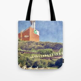 Community Recycling Tote Bag