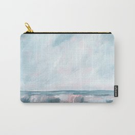Perseverance - Stormy Sea Seascape Carry-All Pouch