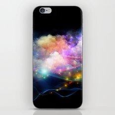 Space Clouds iPhone & iPod Skin