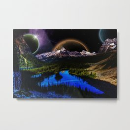 Other Worldly Night  Metal Print