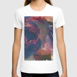 Minimal Zen Abstract Art Reflection of Life T-shirt