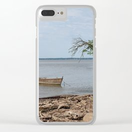 Tie the Raft Clear iPhone Case