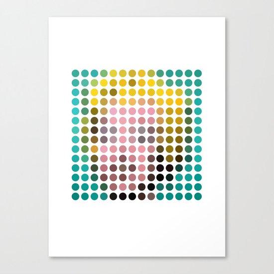 Marilyn Monroe Remixed Canvas Print