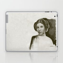 Princess Leia - Homage to Carrie Fisher Laptop & iPad Skin