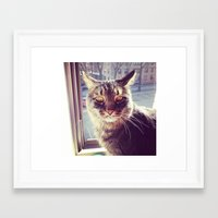 louis Framed Art Prints featuring Louis by a.p.l