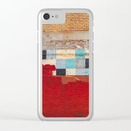 Brooklyn Architecture II Clear iPhone Case