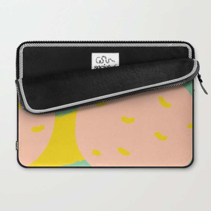 Pink Oranges Laptop Sleeve