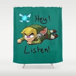 Link & Navi - The Legend Of Zelda Shower Curtain