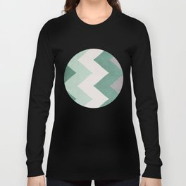 Wintergreen - Chevron Long Sleeve T-shirt