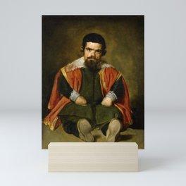 "Diego Velázquez ""Don Sebastian de Morra"" Mini Art Print"