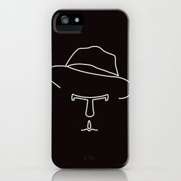 Tom Waits iPhone Case