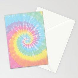 Pastel Tie Dye Stationery Cards