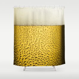 Beer Bubbles 1 Shower Curtain