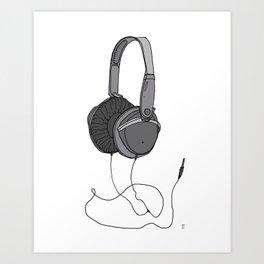 Audio Art Print