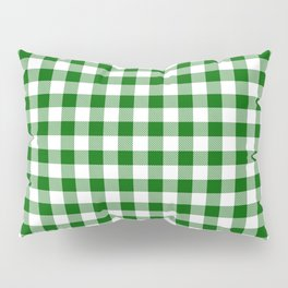 Green Buffalo Plaid Pillow Sham