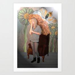 "'To a Mountain Daisy"" Art Print"