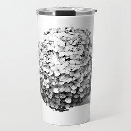 Hydrangea Macrophylla Hortensia Travel Mug