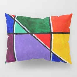 Colorful Square Pillow Sham