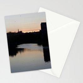 Sunset over Leith Edinburgh Stationery Cards