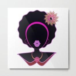 Our Pink Lady Metal Print