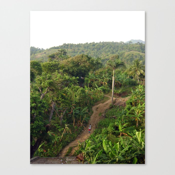 A Long Road Home Canvas Print