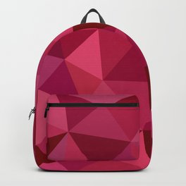 Rose Petals Low Poly Backpack