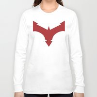 nightwing Long Sleeve T-shirts featuring Nightwing 52 by Sdog1982