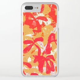 Batik on the Beach Clear iPhone Case