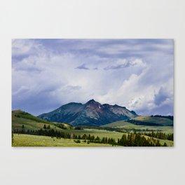 Electric Peak Yellowstone Canvas Print