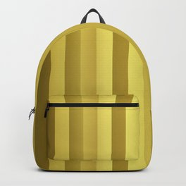 Large Rose Gold and Copper Stripes Backpack
