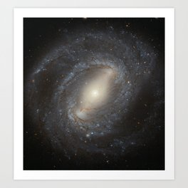 Barred Spiral Galaxy NGC 4394 Art Print
