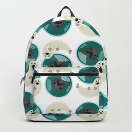 Harp Seal - Baby and Mom Backpack